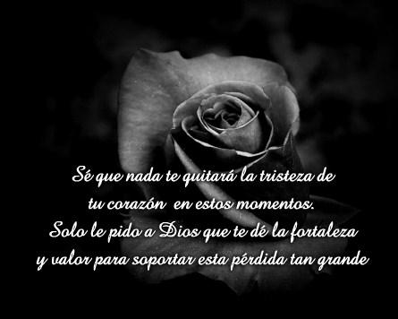 flores negras de luto
