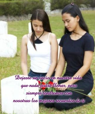 imagenes de luto por muerte de una madre
