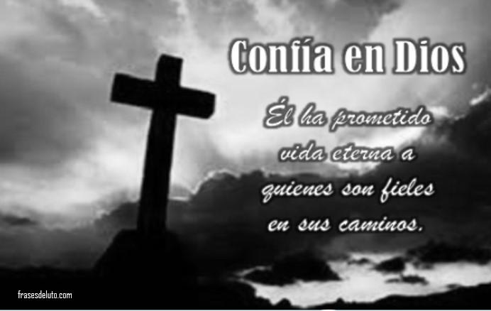 imágenes de luto con frases cristianas de ánimo