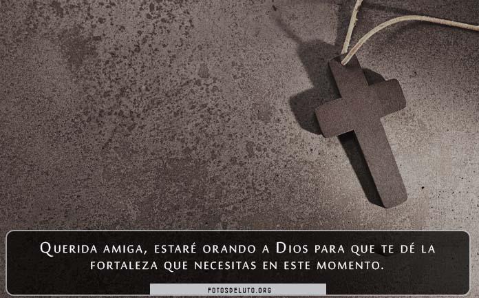 Tarjetas de condolencias cristianas para dar el pésame para un amigo