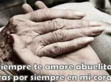 Imágenes de luto con frases para una abuela