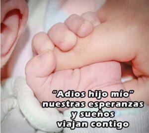 Frases de luto para mi bebe