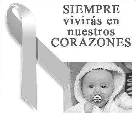 Frases de luto para un bebe