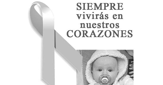 Frases de luto para compartir por un bebe fallecido